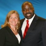Annie Crawley and Mentor Les Brown
