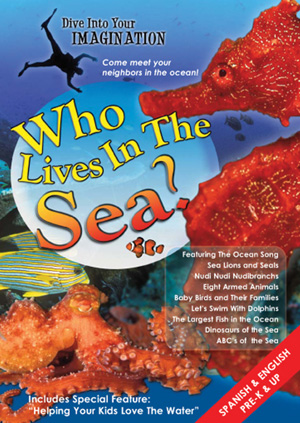 Who Lives in the Sea DVD by Annie Crawley