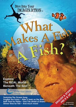 What Makes A Fish, A Fish DVD by Annie Crawley