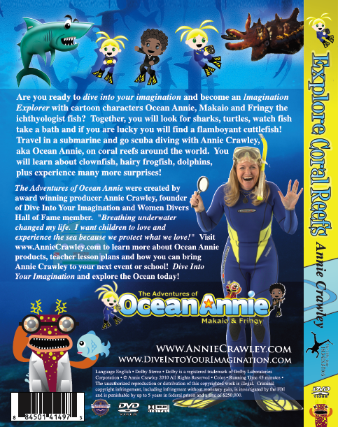 Explore Coral Reefs DVD Back Cover