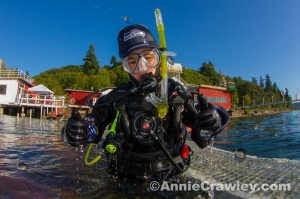Scuba Diving Kids Love Seattle Seahawks
