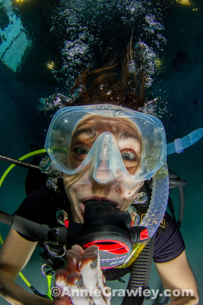 Yoga Instructor Heather Falkin Learns to Scuba Dive