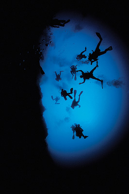 Freedom Scuba Diving at the Blue Hole in Belize Annie Crawley  Photography