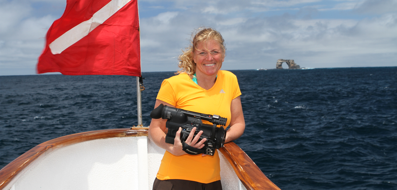 Annie Crawley Galapagos Aboard Sky Dancer Read About Annie Crawley Biography Here