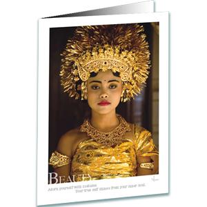 Beauty Greeting Card - Inspirational Greeting Cards - Bali Photography - AnnieCrawley.com