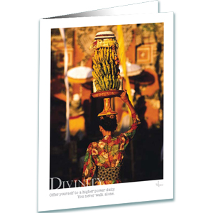 Divinity Greeting Card - Inspirational Greeting Cards - Photography - AnnieCrawley.com