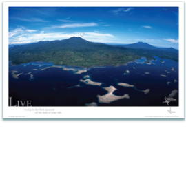Live Poster - Live Islands Poster - Inspirational Poster - Underwater Photography - AnnieCrawley.com