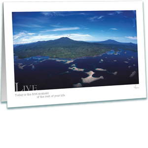 Islands Greeting Card - Underwater Photography - AnnieCrawley.com