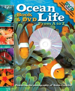 Ocean Life A to Z Book & DVD by Annie Crawley