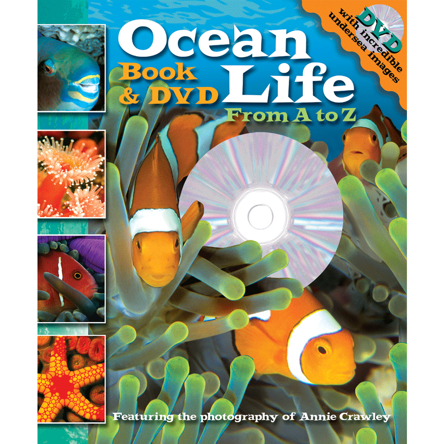 Ocean Life A to Z Cover - ocean life books - ocean life DVDs