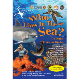Who Lives in the Sea DVD - Ocean Movies for Kids - Dolphin Movies for Kids - AnnieCrawley.com