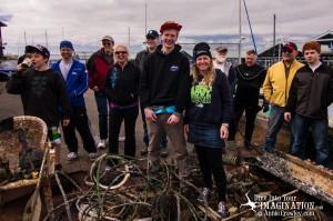 Volunteers Dive Against Marine Debris - Port of Edmonds - Edmonds Marina - Shawn Hayes - Annie Crawley