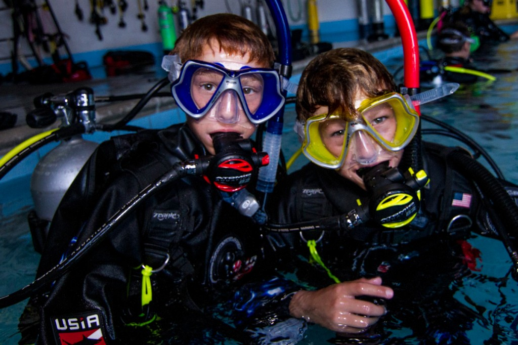 Annie Crawley's Scuba Diving Camp - Summer Scuba Diving Camps - Beach Camp - Scuba Diving for kids