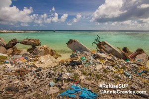 Our ocean has become plastic soup. Refuse Single Use Plastic #RefuseSUP