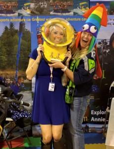 Seattle Boat Show Annie Crawley Aquanaut