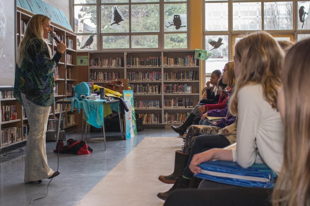 Washington Middle School Annie Crawley Speaker Seattle