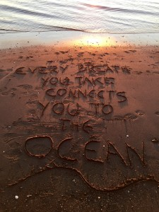 Every breath you take connects you to the ocean. Rethink your relationship with plastic, it's polluting our ocean.