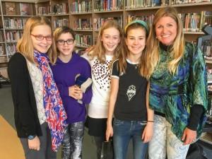 Washington Middle School Annie Crawley Students Speaker