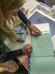 Soundview School Annie Crawley Speaker Book RefuseSUP