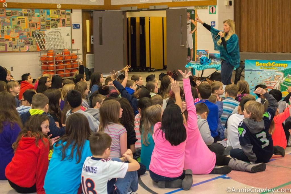 Picnic Point Elementary Annie Crawley Ocean Environment Speaker Seattle