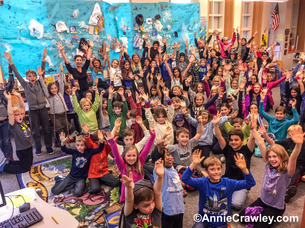Our Ocean & YOU Campaign inspires students at Greenwood Elementary to be the voice for our ocean.